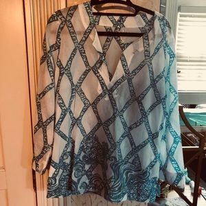 Lilly Pulitzer linen tunic. M NWOT